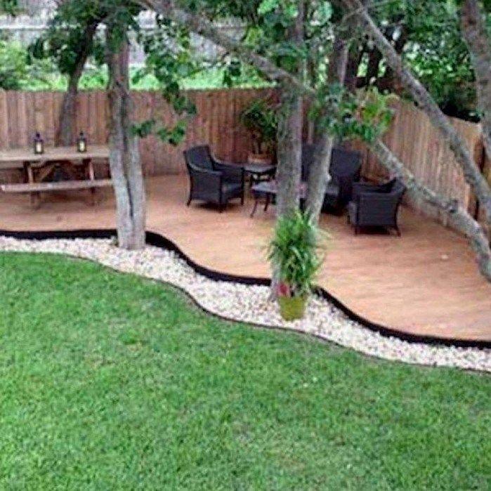 55 Outstanding Backyard Patio Deck Ideas To Bring A Relaxing Feeling – Gaten Diy