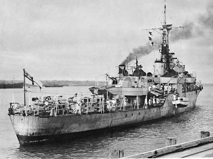 MaritimeQuest - HMS Amethyst U-16 / F-116, 1946