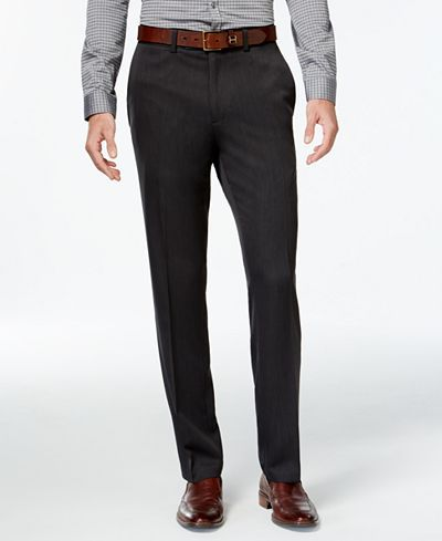 Kenneth Cole Reaction Slim-Fit Urban Dress Pants - Pants - Men - Macy's