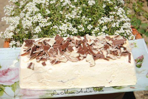Viennetta maison à la vanille et chocolat croustillant {Valse vanille} -
