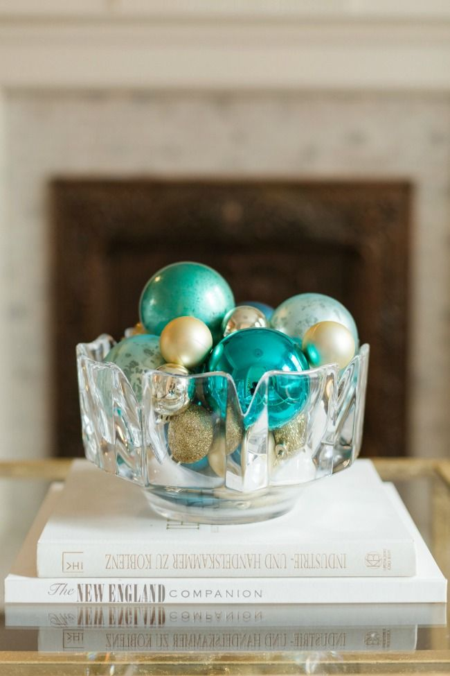 Turquoise and Gold Holiday Color Schemes