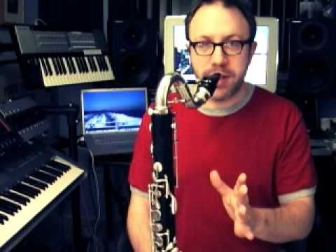 how to play upper register on clarinet