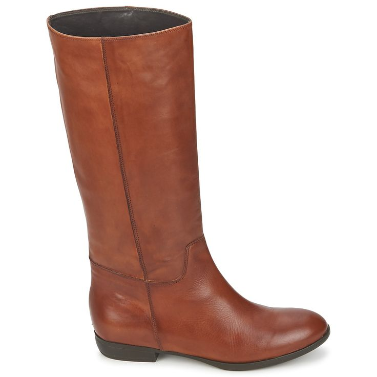 Botte ville Jonak CAVILA Camel - Livraison Gratuite avec Spartoo.com ! - Chaussures Femme 135,00 €