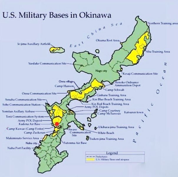 map of okinawa military bases   New US military ba    - #ba