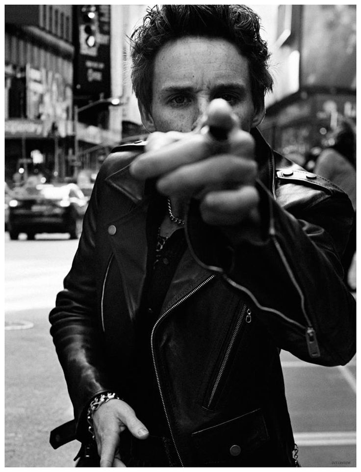 Eddie Redmayne Covers Interview Magazine February 2015 Issue, Stars in Rock Inspired Fashion Shoot