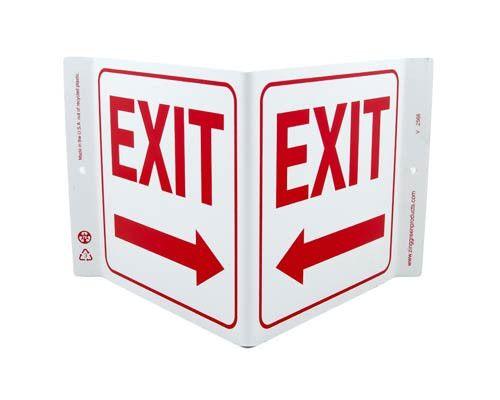 Exit Left Arrow V