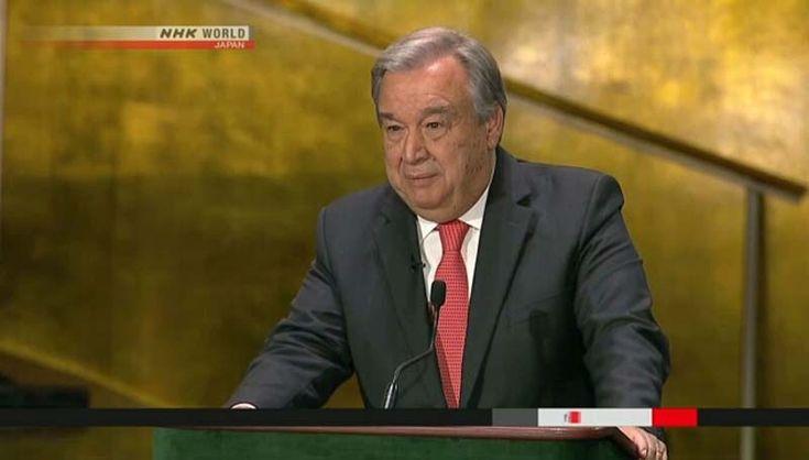 Antonio Guterres, de Portugal, será o novo Secretário Geral da ONU. O ex-primeiro-ministro Português Antonio Guterres, 67 anos, foi eleito para se tornar...