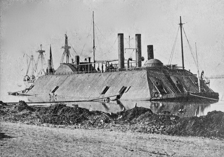 The strange but deadly ironclad ships of the U.S. Civil War