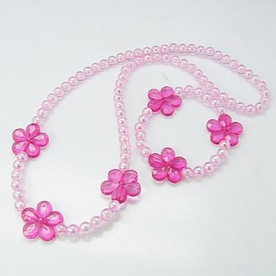Acrylic Jewelry Sets, Necklaces and Bracelets, Kids Jewelry