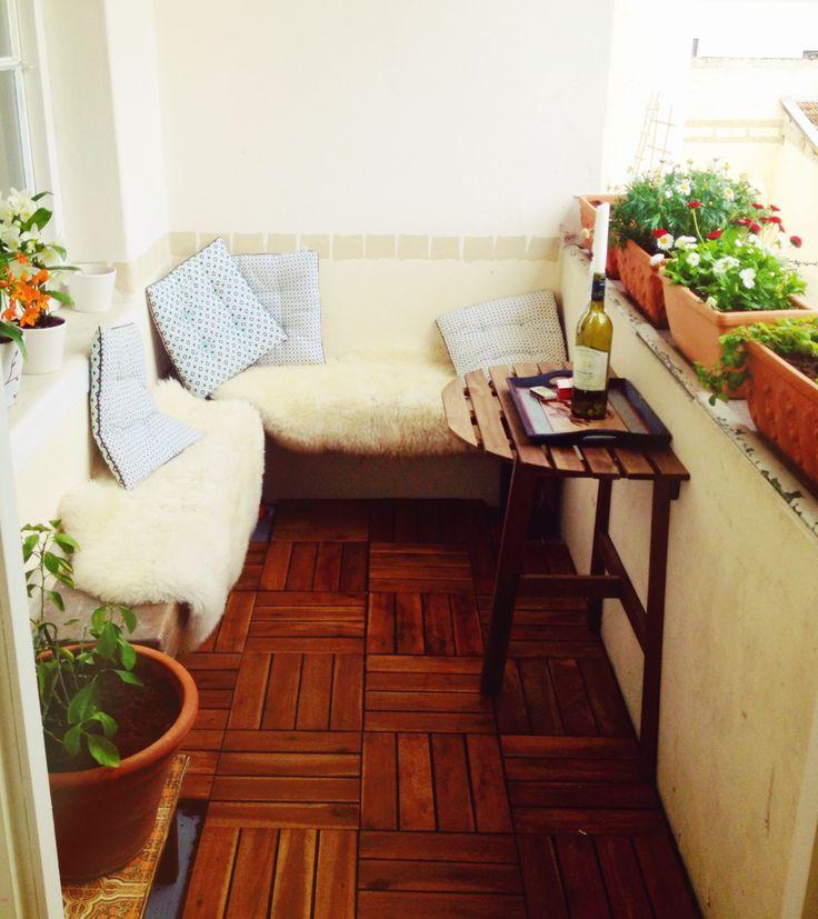So wird dein #Balkon zur gemütlichen #Chillout-Area. #Studentenbude
