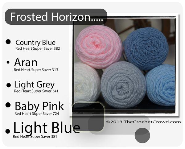 Red Heart Super Saver Color Mix: Frosted Horizon