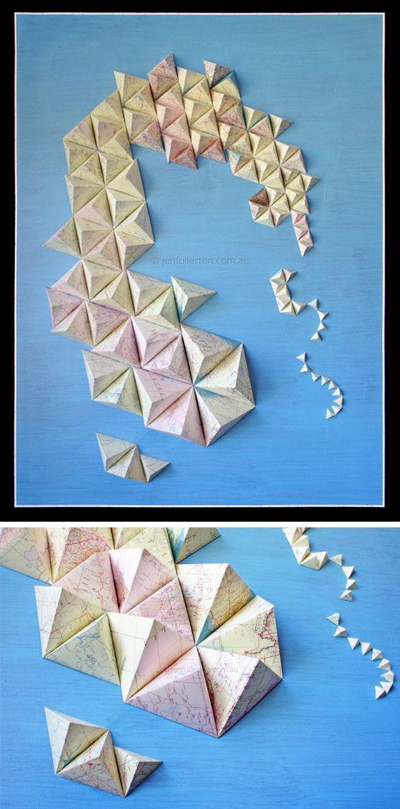 Paper art by Jen Fullerton