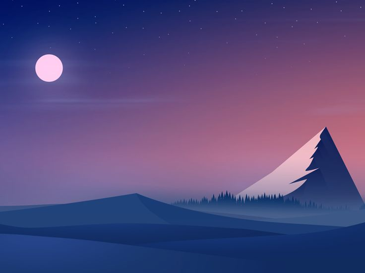 Dribbble - Eastern light by Dave Chenell