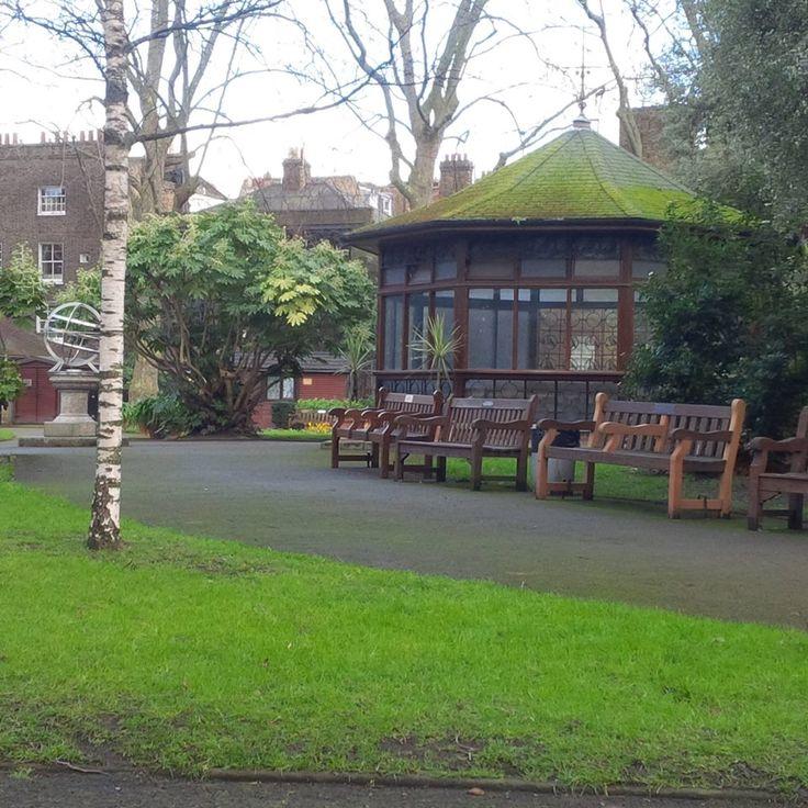 Paddington Street Gardens in Marylebone, Greater London