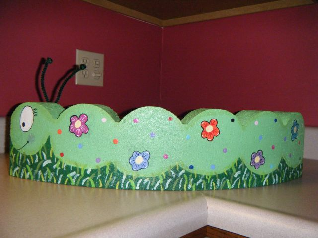 Catipillar Patio Paver Kie S Kreations Pinterest Painted Pavers Garden And Brick Crafts