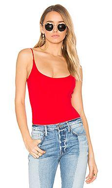 Privacy Please Bara Bodysuit in Red | REVOLVE