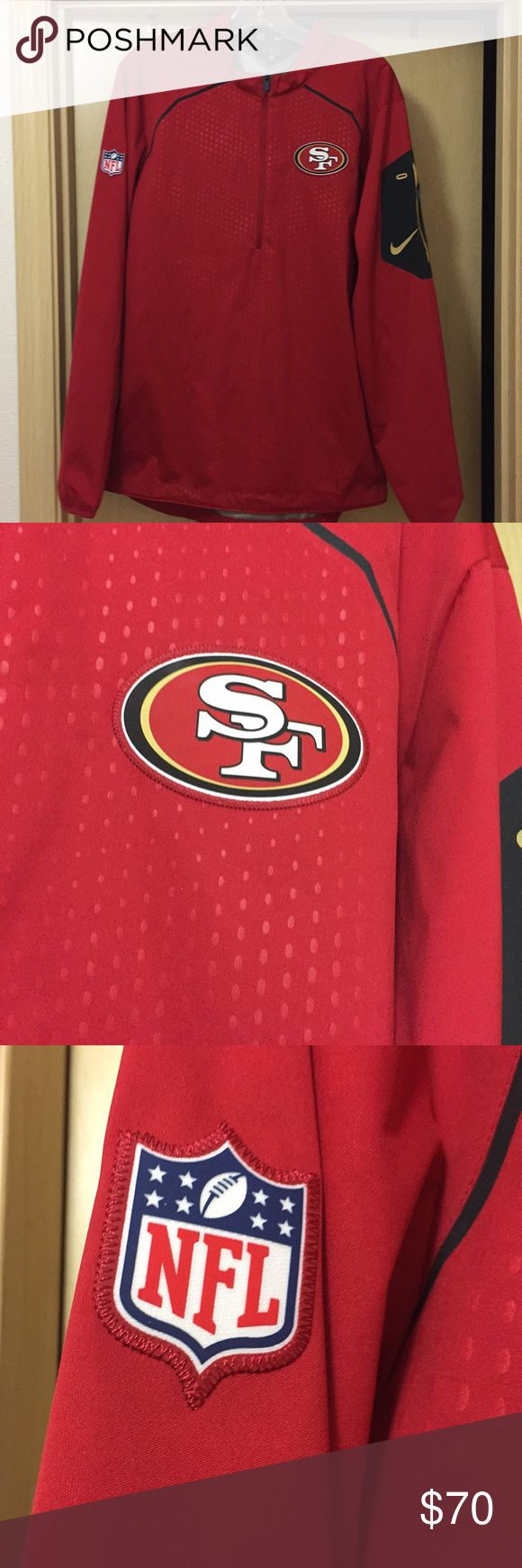 Nike 49ers jacket Men's size Medium. Like new condition Nike Jackets & Coats