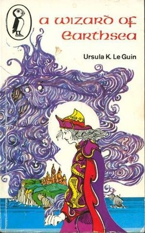A Wizard of Earthsea by Ursula Le Guin. Excellent set of books.