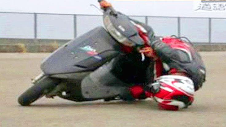 Extreme Cornering of the Motorcycle Riding