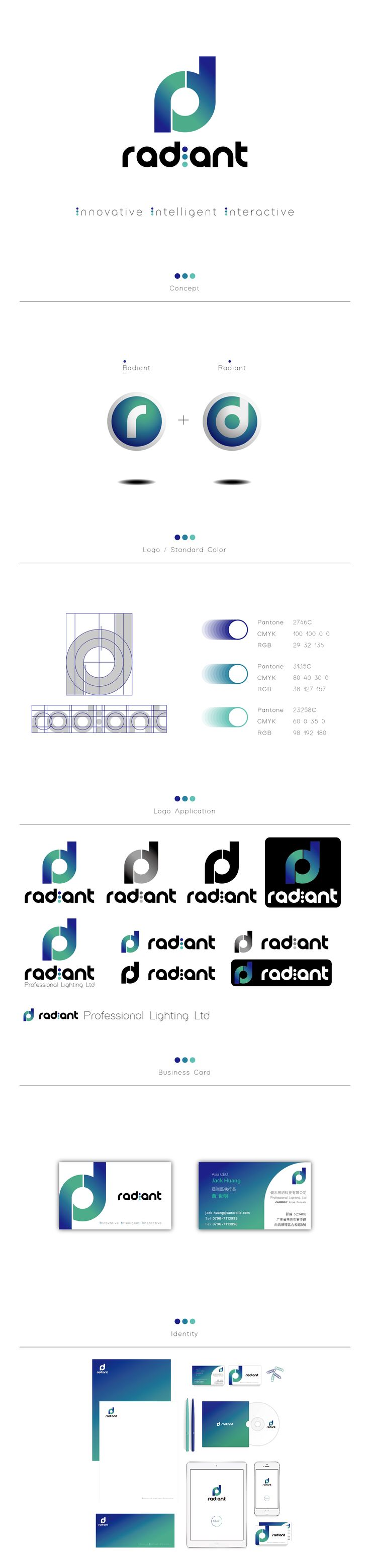 Radiant-Logo/CI Design-2016