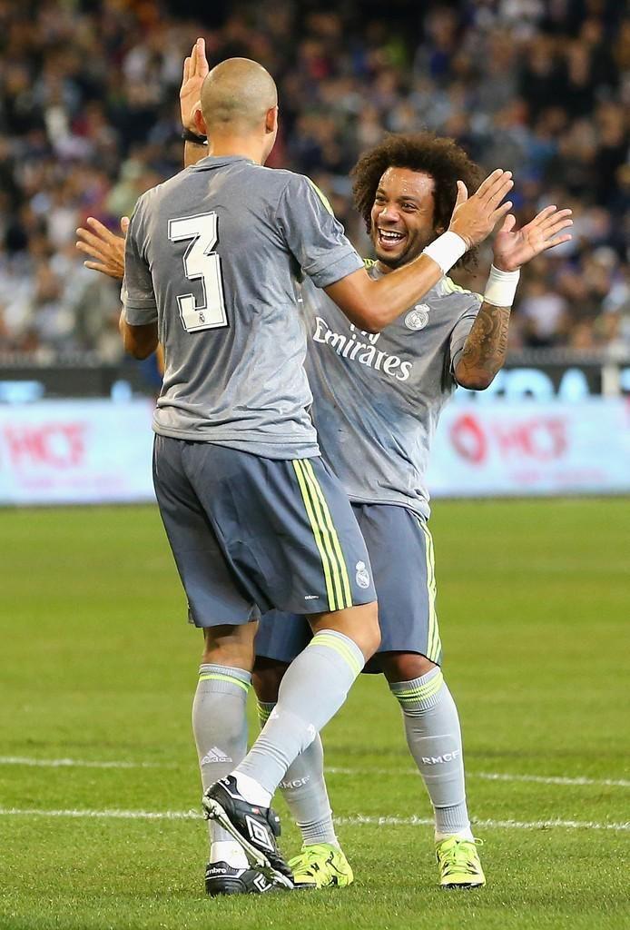 Marcelo & Pepe Real Madrid