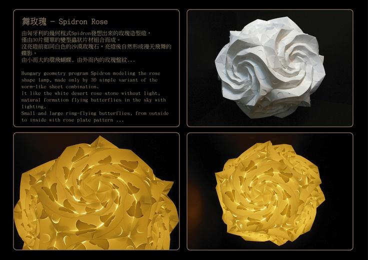 Spidron Rose