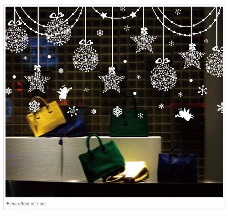 11.11 Only. Grandiose raspradazha of goods on AliExpress !!!! Have time to please yourself and loved ones !!! AliExpress Горящие товары / Отобранные продавцы, бесплатная доставка, скидки до 90%. Новогодние наклейки на окна, 237х80 см