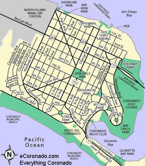 Naval Station San Diego Map.Nas North Island Map Compressportnederland