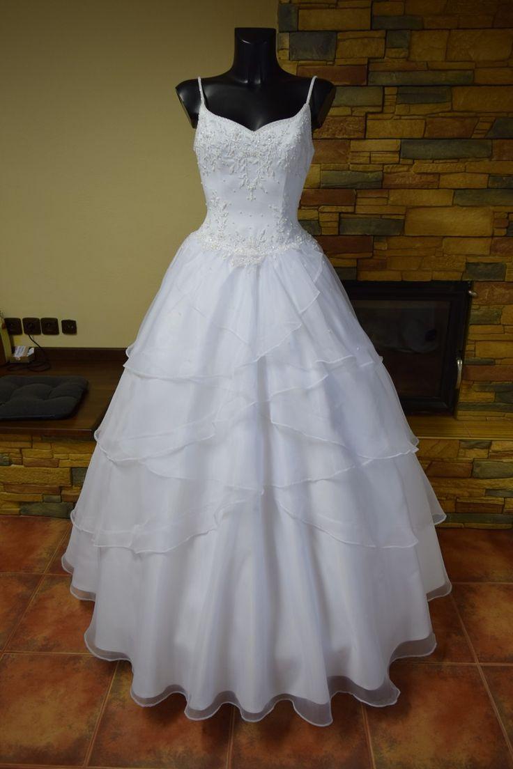 Svatební šaty | bílé princeznovské svatební šaty | Levné svatební šaty, svatební šaty levně - prodej