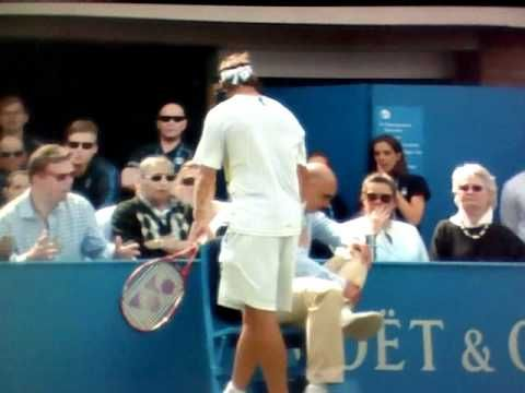 Nalbandian gets Disqualified Queens Final. Unnecessary!!!