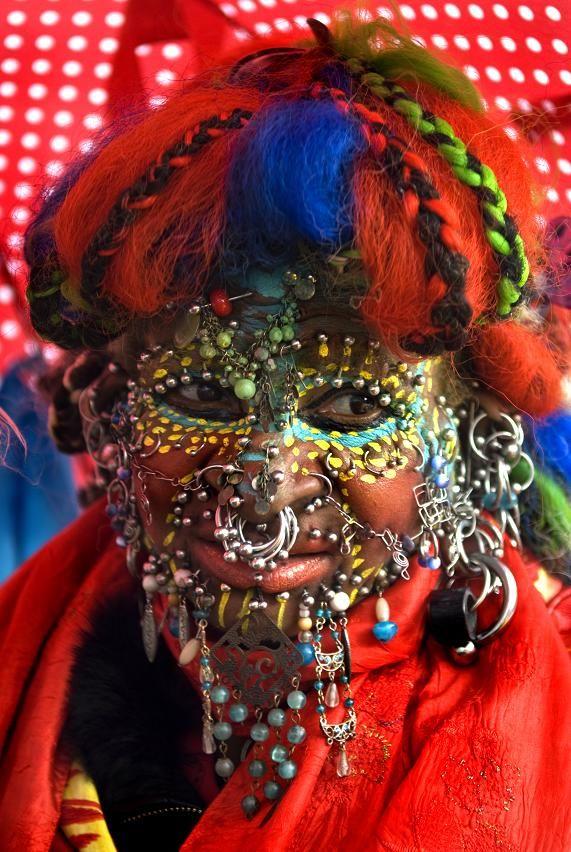 Dada face lady Pin By: Amer Jassim