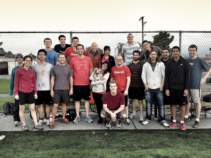 @Pinterest Ultimate Frisbee team!