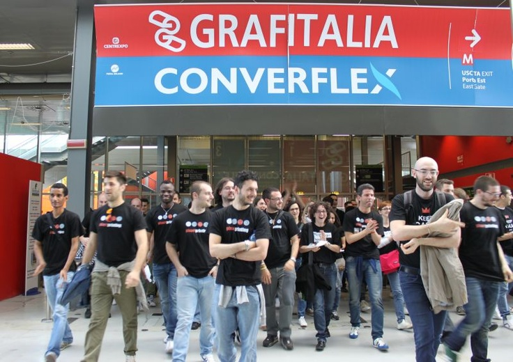 Invasione Pixartprinting a Grafitalia