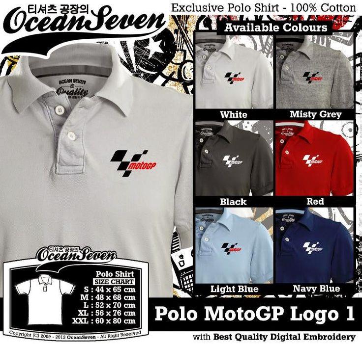 Kaos Polo MotoGP Logo 1 | Kaos Polo - Exclusive Polo Shirt