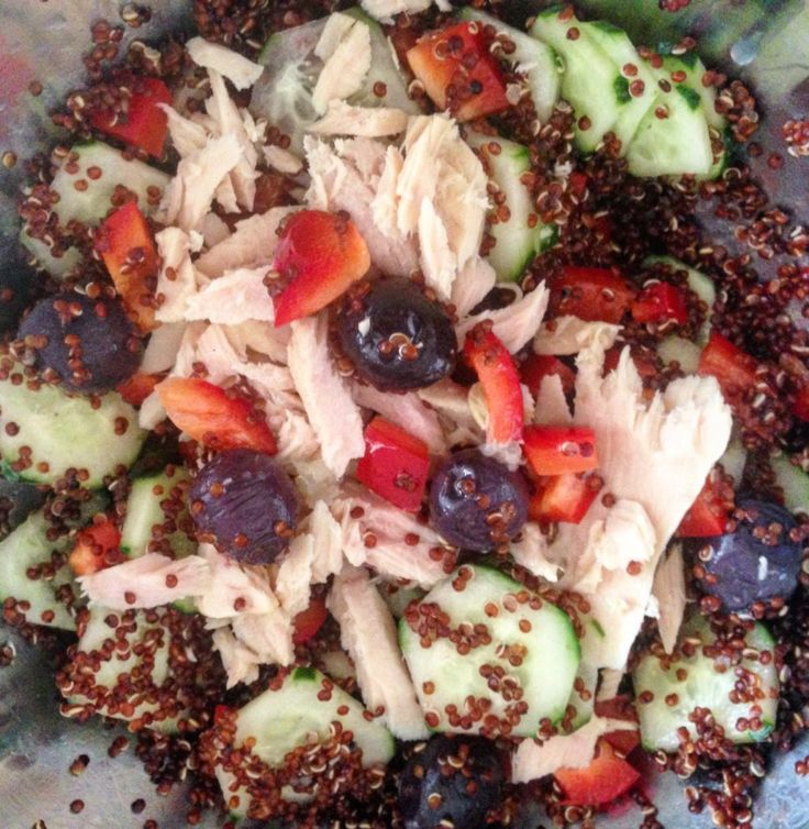 Salata de Quinoa cu file de Ton