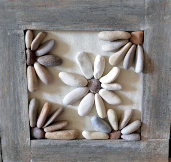 Arte de piedra por GoldEven en Etsy                                                                                                                                                                                 Más
