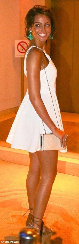 Michelle keegan fishtail dress summer