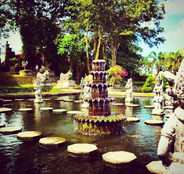 """""""The recent modifications aside, Tirta Gangga boasts a tranquil atmosphere combined with gorgeous gardens that make for a truly memorable experience. Given that the water palace is not easily acces..."""
