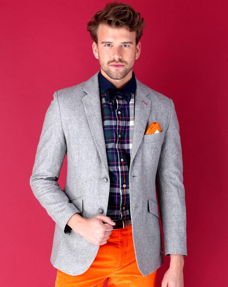 Veste 100% laine, gris clair, cliquez sur l'image pour shopper #bazarchic #mode #fashion #vicomte #arthur #vicomtearthur #luxury #sport #winter