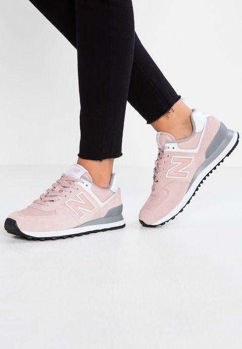 New Balance WL574 - Sneaker low - light pink - Zalando.de ...