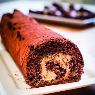 Simple Salted Caramel and Chocolate Swiss Roll   http://www.nationalbakingweek.co.uk/recipes/simple-salted-caramel-and-chocolate-swiss-roll