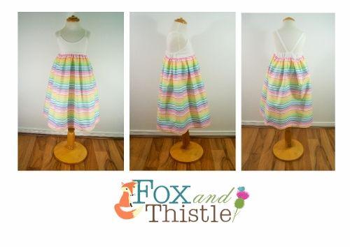 Fox and Thistle Hummingbird Dress Size 4