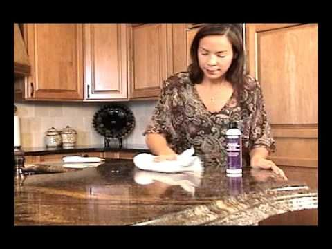 DIY HOW TO POLISH GRANITE COUNTERTOPS, Polishing Grantie Countertops mad...
