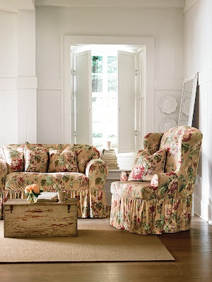 Fun Accents With Slipcover Patterns.