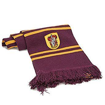 "Amazon.com: Harry Potter Scarf By Cinereplicas - 75""cm - Ultra Soft Fabric (Purple Gryffindor): Home & Kitchen"