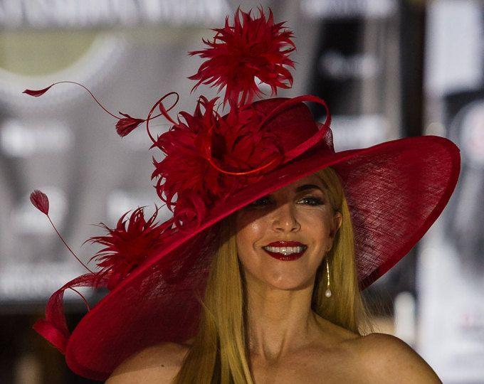 Culer Frauens Organza Kirche Derby Fascinator Cap Kentucky Cocktail Tea Party Hochzeit Braut Blumen-Hut