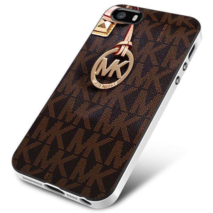 Michael Kors Logo Brown iPhone 4 5 5c 6 Plus Case, Samsung Galaxy S3 S4
