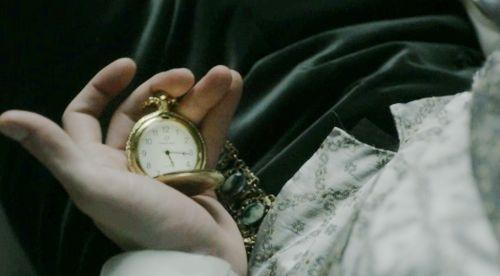 """a gentleman is seldom so late.""   ""aye, but she's no gentleman."""