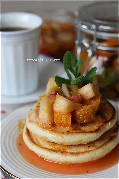 ふかふか幸せ気分になれる♪パンケーキレシピ50選|CAFY [カフィ]