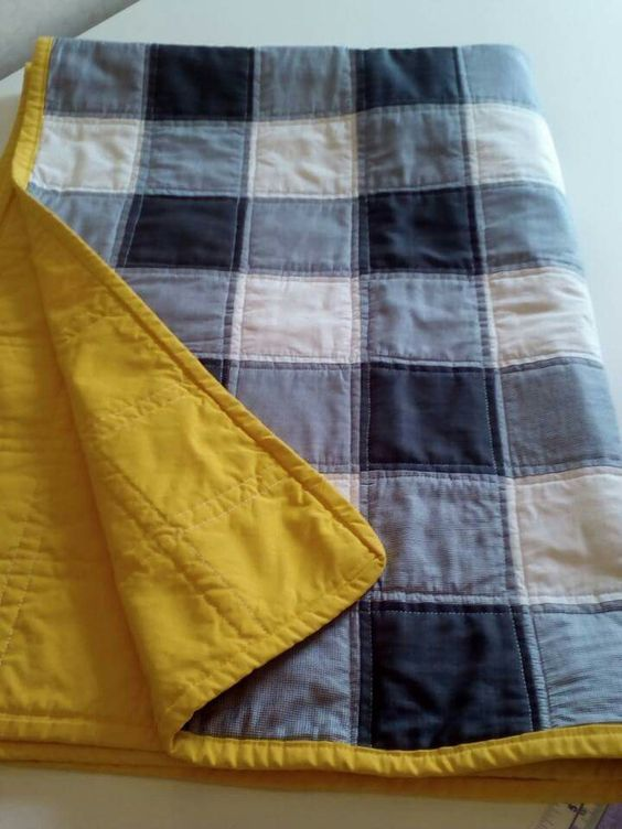 Sew Blue Jean Quilt Blanket Craft Project Homesteading  – The Homestead Survival…